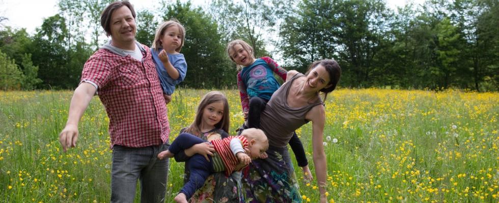 Eine Familie in der Läbesschuel