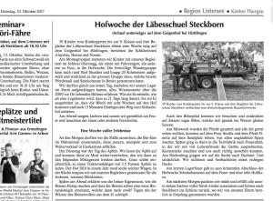 Artikel Bote Geigenhofwoche