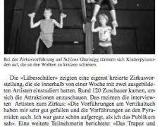 Zirkusaufführung, 6. September 2018